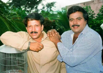 Vishnuvardhan With Ambareesh