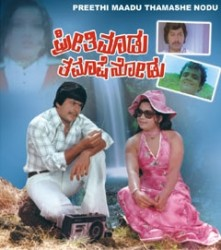 Preethi Maadu Thamashe Nodu Movie Poster
